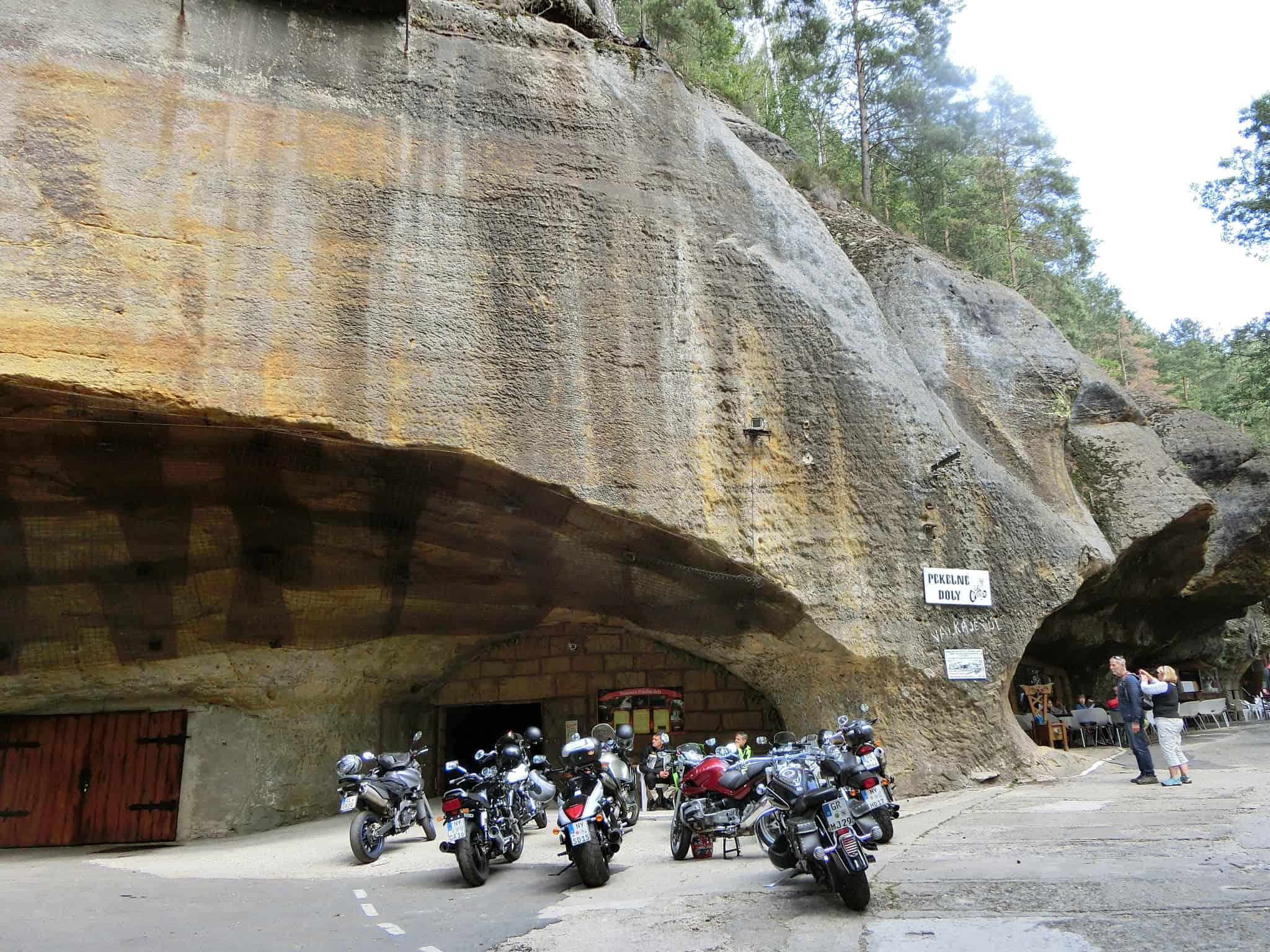 Pekelné Doly – czeska mekka motocyklistów