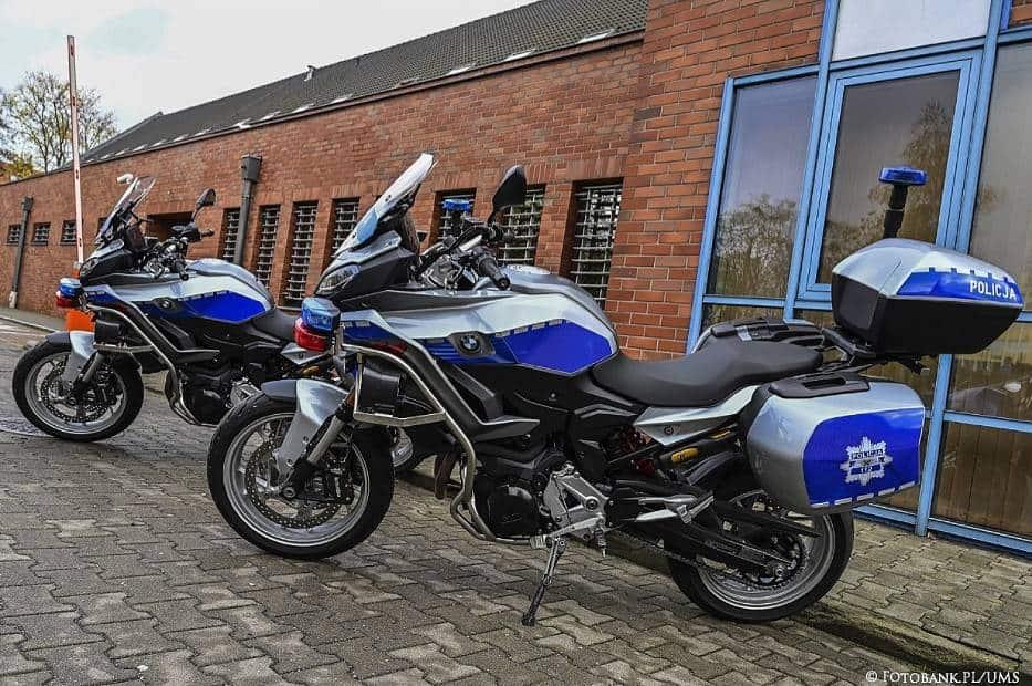 Sopot. Policja otrzymała nowe motocykle