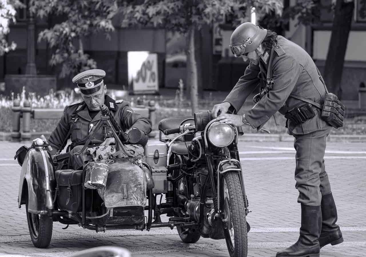 Motocykle II wojny światowej – czym jeździły największe armie?