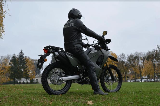 Straż Graniczna. Warte 30 tysięcy złotych motocykle trafią do funkcjonariuszy