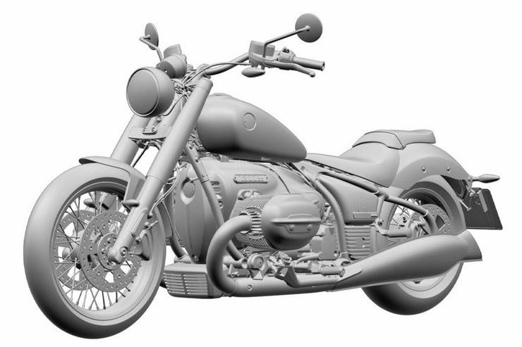 BMW. Projekt turystycznego motocykla R18 Transcontinental