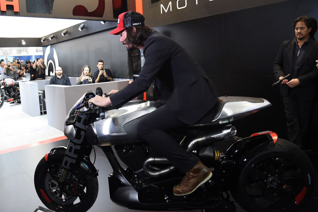 Motocykl Keanu Reevesa trafił do gry Cyberpunk 2077