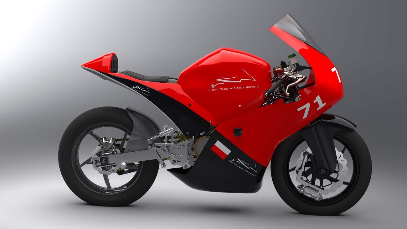 LEM Photon. Studencki projekt zadebiutuje w elektrycznym odpowiedniku MotoGP