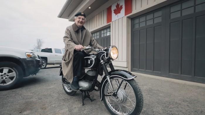 Motocykl wrócił do właściciela po 60 latach