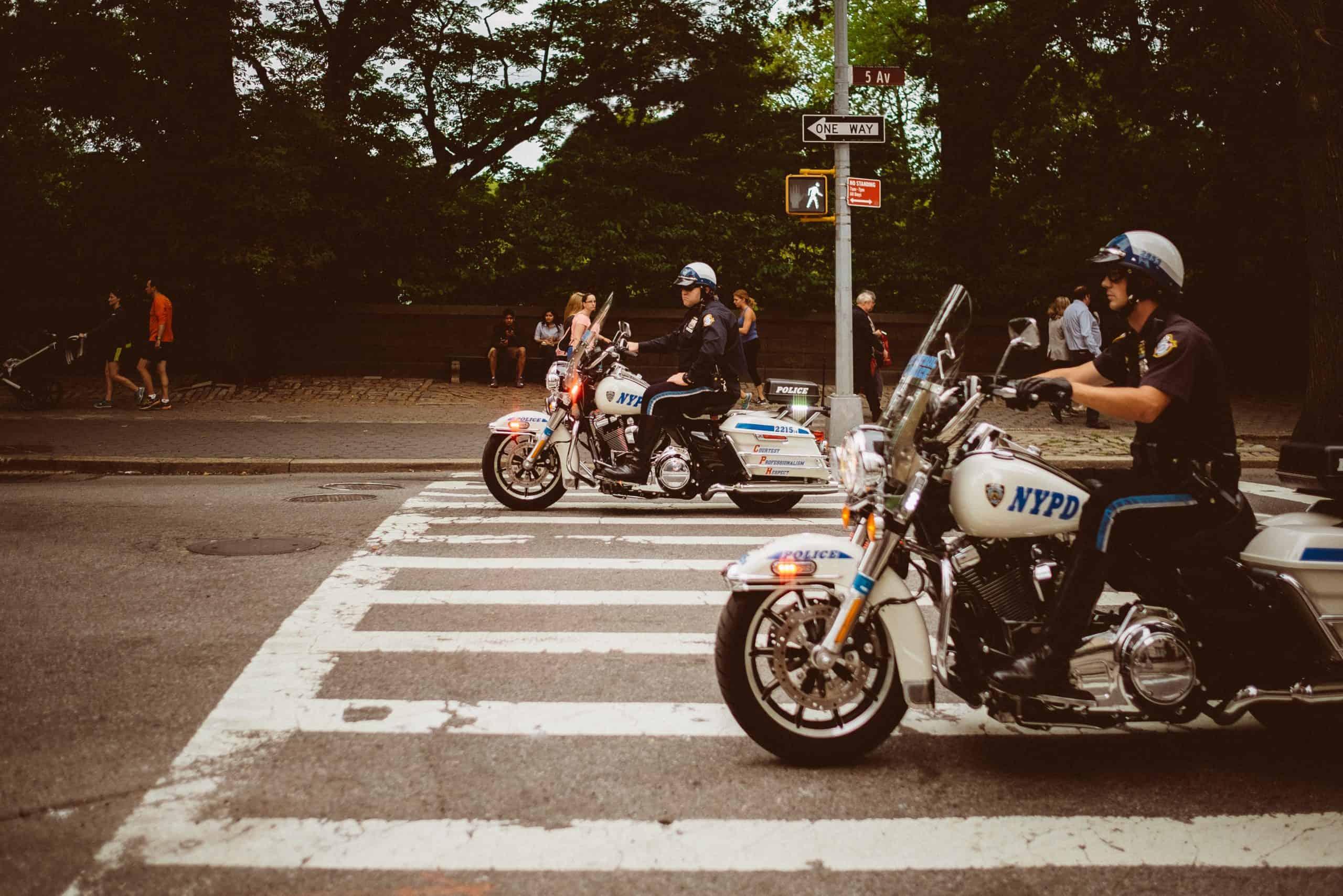 Dolnośląscy policjanci otrzymali nowy motocykl