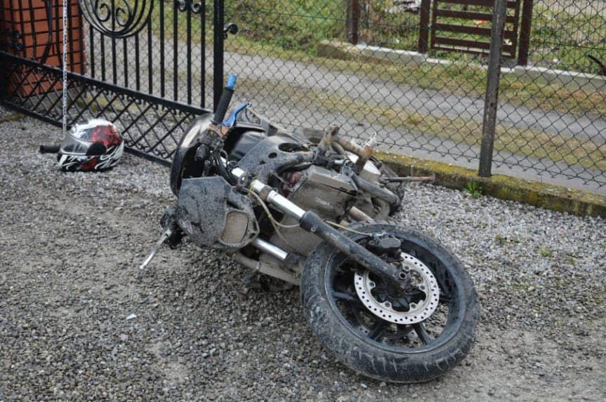 Policyjny pościg za motocyklem zakończony kontrowersją