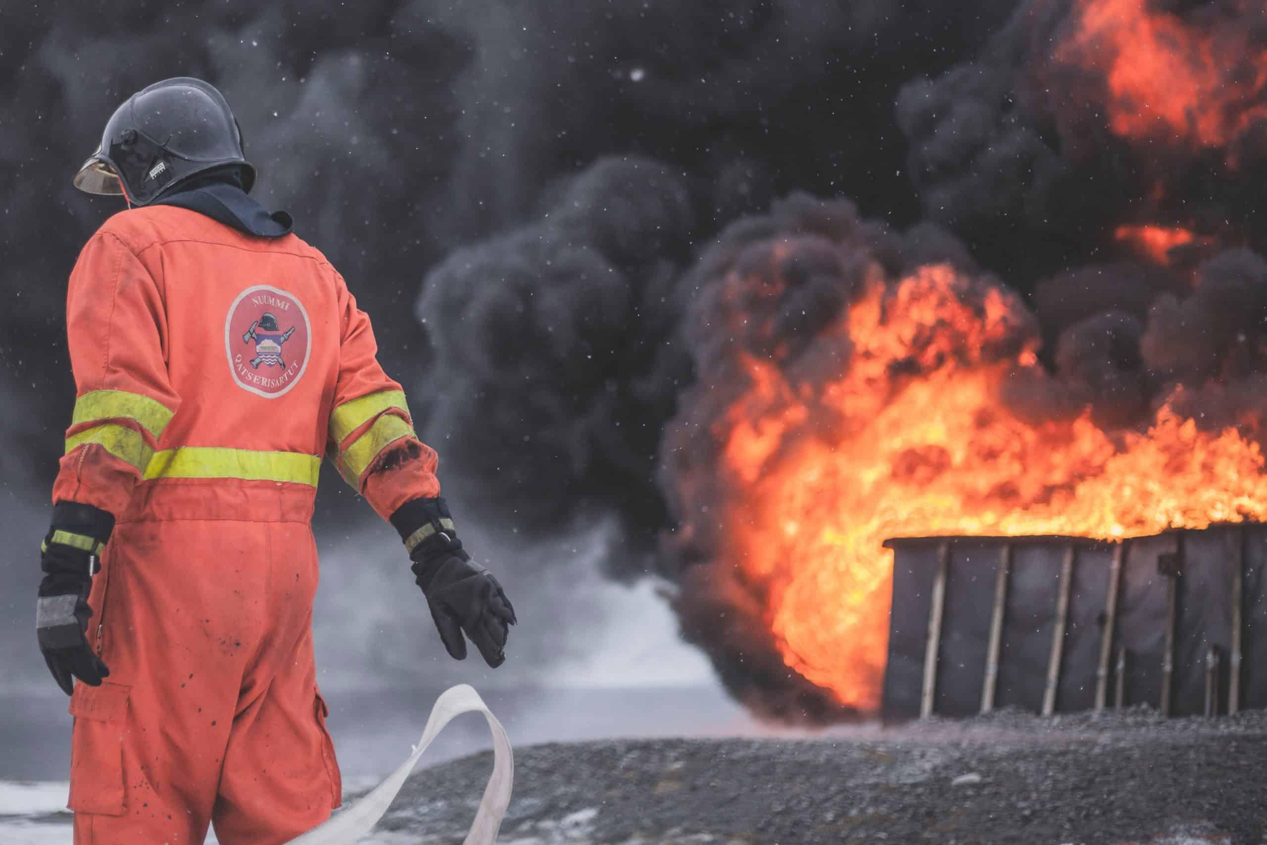 Argentyna. Pożar trawi zabytkowe motocykle [NAGRANIE]