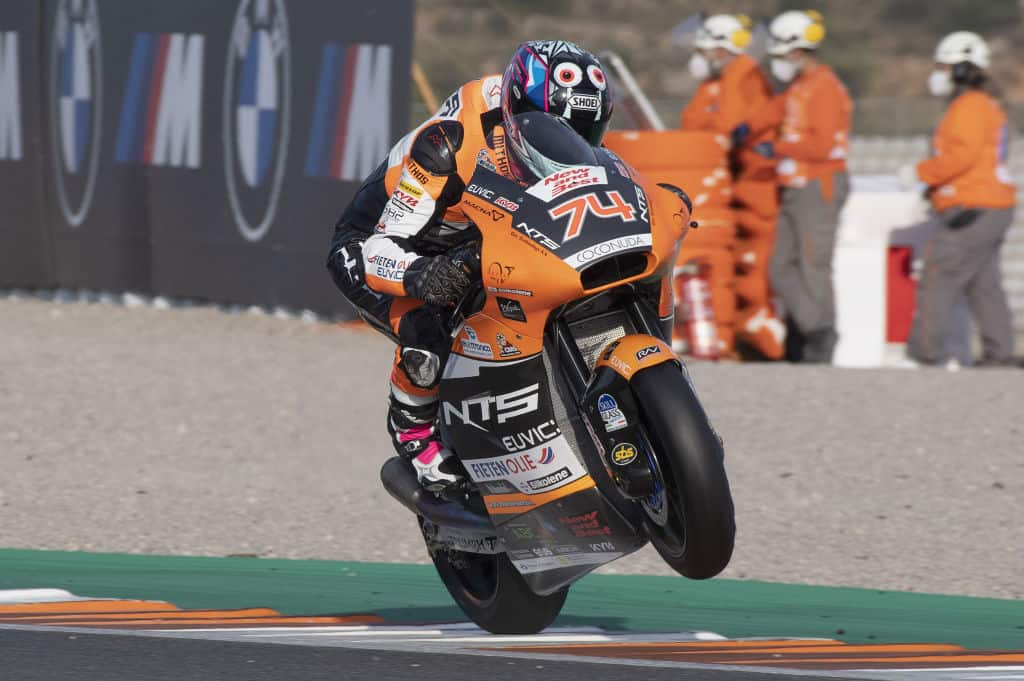 Moto2. Biesiekirski po oficjalnych testach motocykla