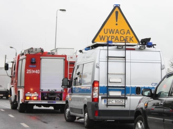 Toruń: tragiczny wypadek na skrzyżowaniu – nie żyje motocyklista…
