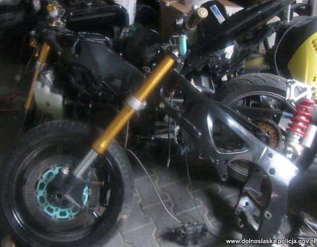 Oława: złodzieje motocykli trafili w ręce policji