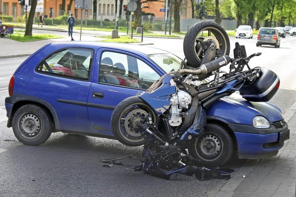Początek 2021 roku okazał się wyjątkowo korzystny pod względem wypadków motocyklistów