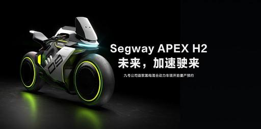 """Segway: wodorowy motocykl stylizowany na maszynach z filmu """"Tron"""""""