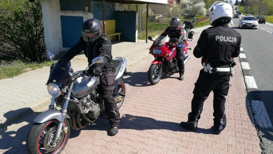 """Sukces podkarpackiej akcji """"Motocykl"""" – mundurowi skontrolowali 400. motocyklistów"""