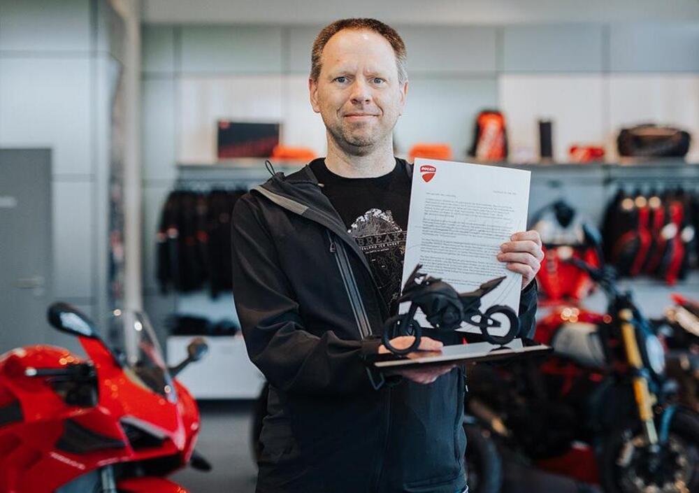 Multistrada V4 bestsellerem Ducati. Sprzedano już ponad pięć tysięcy egzemplarzy