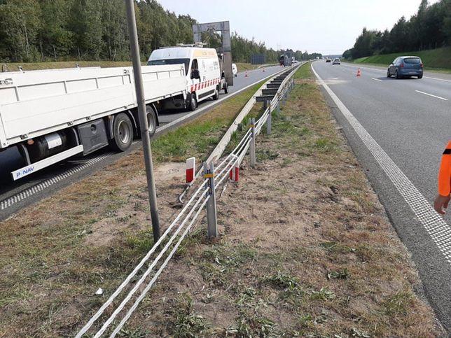 Szwecja wycofuje się z pomysłu linowych barier. Powodem niebezpieczeństwo dla motocyklistów