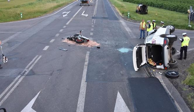 Piekielnie szybki motocykl przewrócił SUV-a. Kulisy tragicznego wypadku