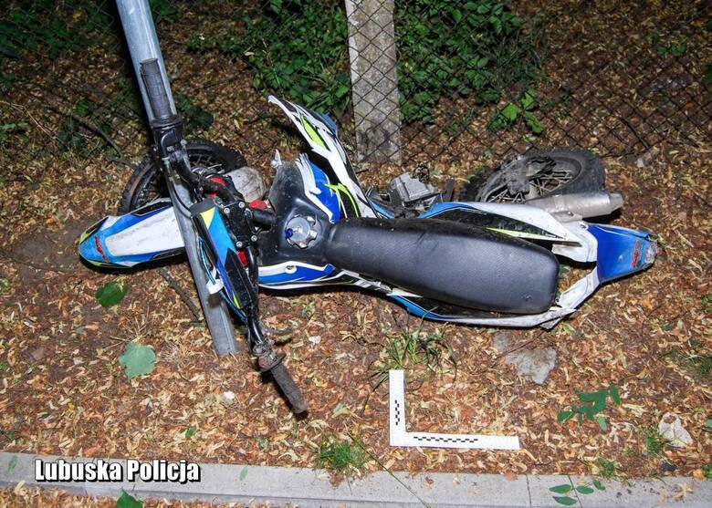 Drezdenko: w tragicznym wypadku zginął 16-letni kierowca motocykla. Kierujący busem był pijany