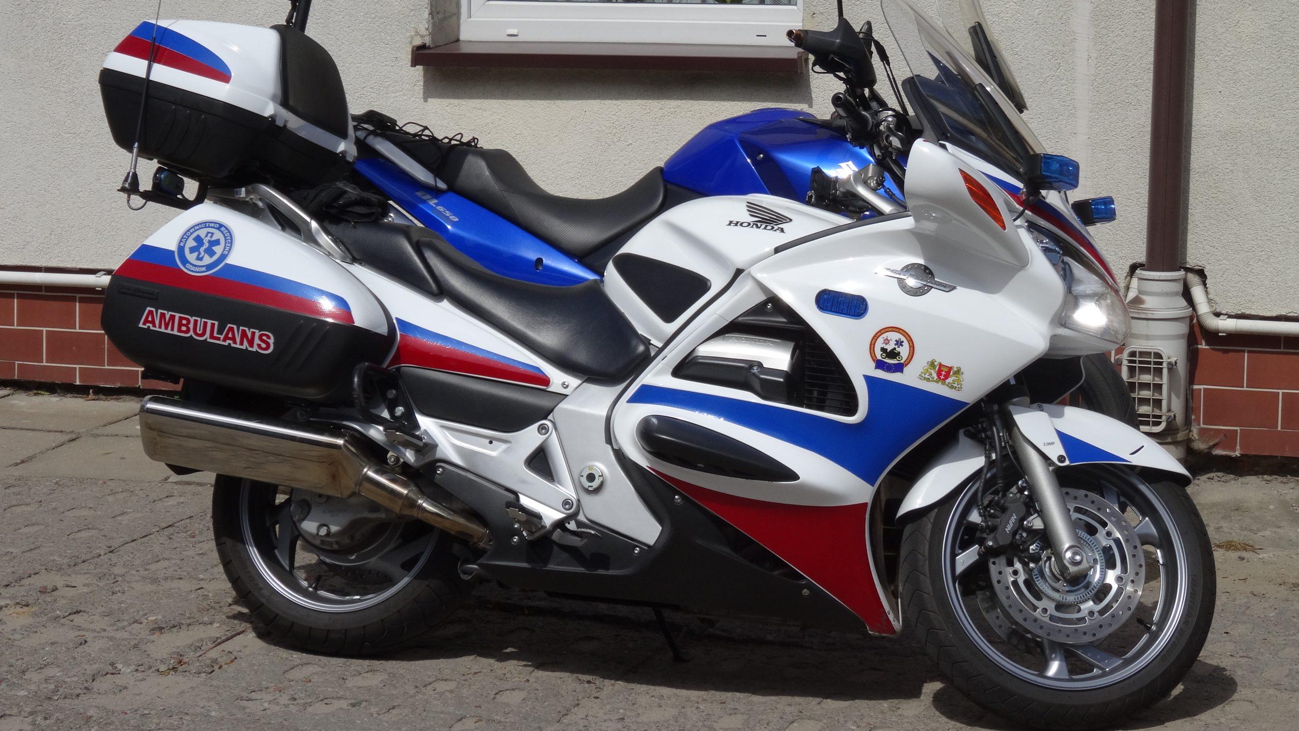 Motocykl ratowniczy w służbie ludziom!