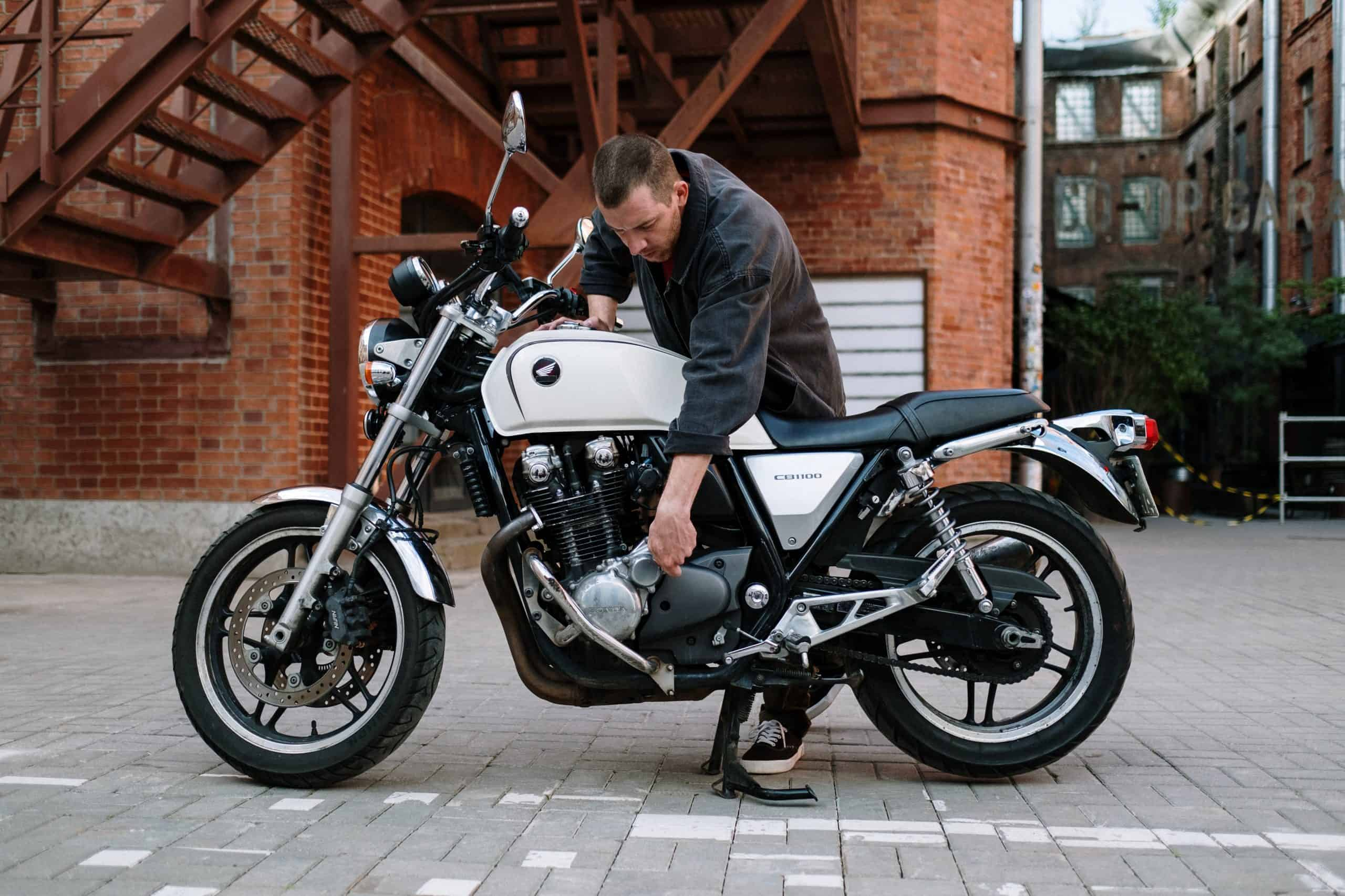 Jak myć motocykl?
